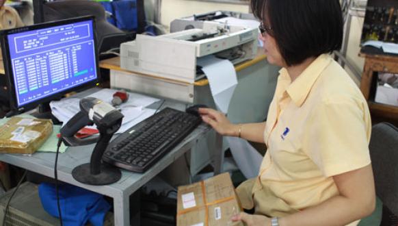 Mã vạch 2 chiều PDF417 ứng dụng trong ngành bưu chính viễn thông